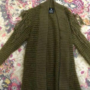 Olive Green Volcom Sweater